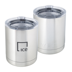 IE Drinkware-10oz Yeti Rambler Lowball-ICE Thumbnail